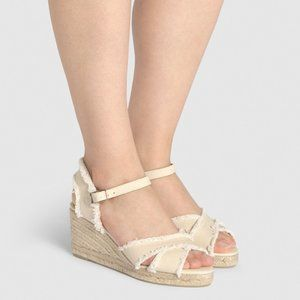 CASTANER Espadrille with wedge Bromelia size 8